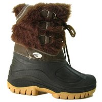 View Item BROWN FUR WINTER COMFORT WARM RAIN SNOW BOOTS SIZE 4-8
